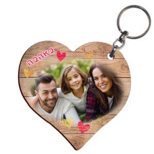 מחזיקי מפתחות בצורת לב