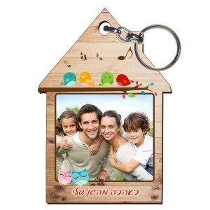 ממחזיקי מפתחות בצורת בית